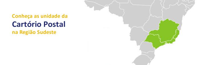 conheca as unidades da cartorio postal na região sudeste